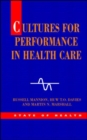 Image for Cultures for performance in health care