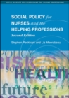 Image for Social policy for nurses and the helping professions