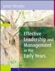 Image for Effective leadership and management in the early years