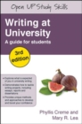 Image for Writing at university  : a guide for students
