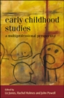 Image for Early childhood studies: a multiprofessional perspective
