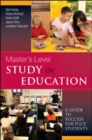 Image for Masters level study in education