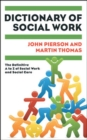 Image for Dictionary of social work