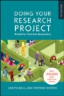Image for Doing Your Research Project: A Guide for First-time Researchers.