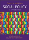 Image for Social policy  : an introduction