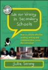 Image for Talk for Writing in Secondary Schools: How to Achieve Effective Reading, Writing and Communication Across the Curriculum, with DVD