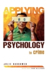 Image for Applying psychology to crime