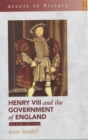 Image for Henry VIII and the government of England