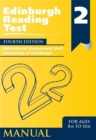 Image for Edinburgh Reading Test (ERT) 2 Manual : A Series of Diagnostic Teaching AIDS