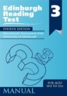 Image for Edinburgh reading tests: Stage 3 Manual