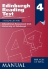Image for Edinburgh reading tests: Stage 4 Manual
