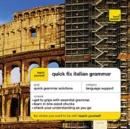 Image for Quick fix Italian grammar