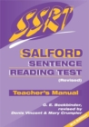 Image for Salford Sentence Reading Test : Specimen Set