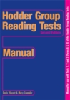 Image for Hodder Group Reading Tests 1-3 New Edition: Manual