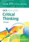 Image for OCR AS/A-level critical thinking