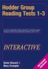 Image for Hodder Group Reading Tests Interactive (HGRTi) 1-3 Network CD-ROM