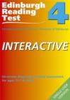 Image for Edinburgh Reading Test Interactive (ERTi) 4 Single-User CD-ROM