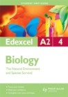 Image for Edexcel A2 Biology Student Unit Guide : The Natural Environment and Species Survival : Unit 4