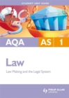 Image for AQA AS lawUnit 1,: Law making and the legal system : Unit 1