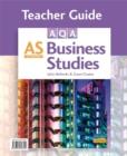 Image for AQA AS business studies: Teacher guide : Teacher Guide