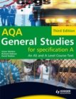 Image for General studies for AQA A  : an AS and A Level course text