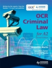 Image for OCR criminal law for A2