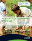Image for Home economics: OCR child development for GCSE