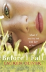 Image for Before I fall