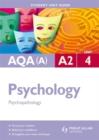Image for AQA(A) A2 psychologyUnit 4,: Psychopathology : Unit 4