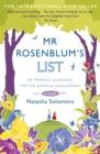 Image for Mr Rosenblum's list, or, Friendly guidance for the aspiring Englishman  : a novel