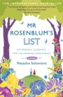 Image for Mr Rosenblum's List: or Friendly Guidance for the Aspiring Englishman