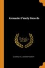 Image for Alexander Family Records