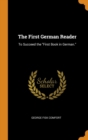 Image for The First German Reader : To Succeed the First Book in German.