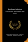Image for Beethoven's Letters : A Critical Edition: With Explanatory Notes; Volume 2