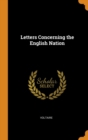 Image for Letters Concerning the English Nation