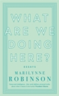 Image for What are we doing here?  : essays