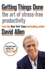 Image for Getting things done  : the art of stress-free productivity