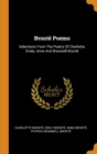Image for Bront  Poems : Selections from the Poetry of Charlotte, Emily, Anne and Branwell Bront