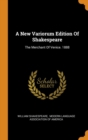 Image for A New Variorum Edition of Shakespeare : The Merchant of Venice. 1888