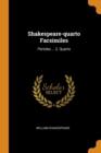 Image for Shakespeare-Quarto Facsimiles : Pericles ... 2. Quarto