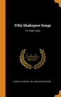 Image for Fifty Shakspere Songs : For High Voice