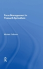 Image for Farm management in peasant agriculture