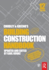 Image for Chudley and Greeno's Building Construction Handbook