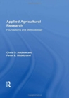Image for Applied agricultural research  : foundations and methodology