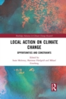 Image for Local action on climate change  : opportunities and constraints