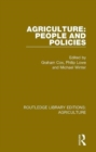 Image for Agriculture  : people and policies
