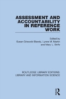 Image for Assessment and Accountability in Reference Work