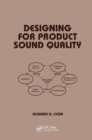 Image for Designing for product sound quality
