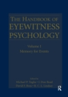 Image for The handbook of eyewitness psychologyVolume I,: Memory for events