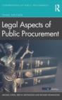 Image for Legal aspects of public procurement